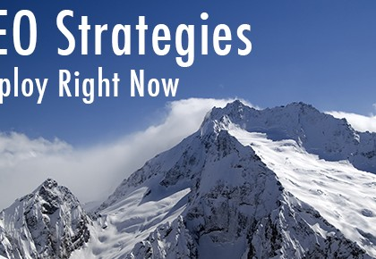 5 SEO Strategies to Employ Right Now