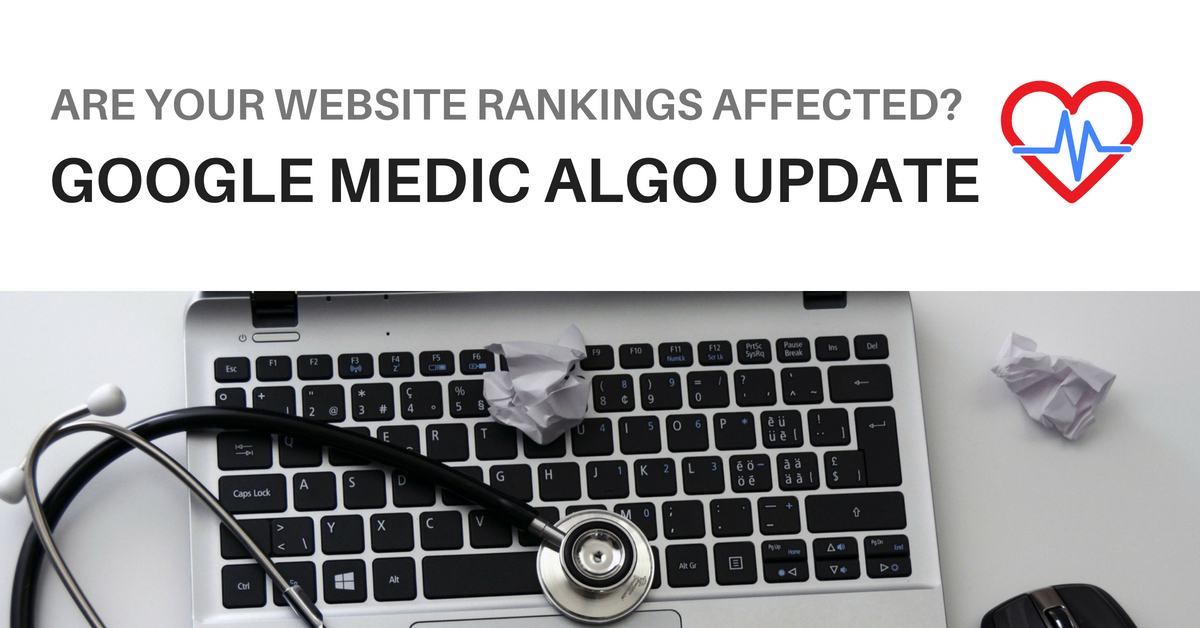 Medic Update Rankings Google