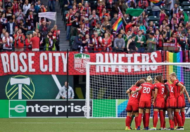 Portland Thorns Soccer Marketing
