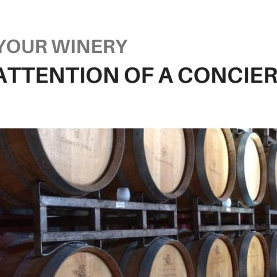 how can wineries get the attention of a wine concierge?