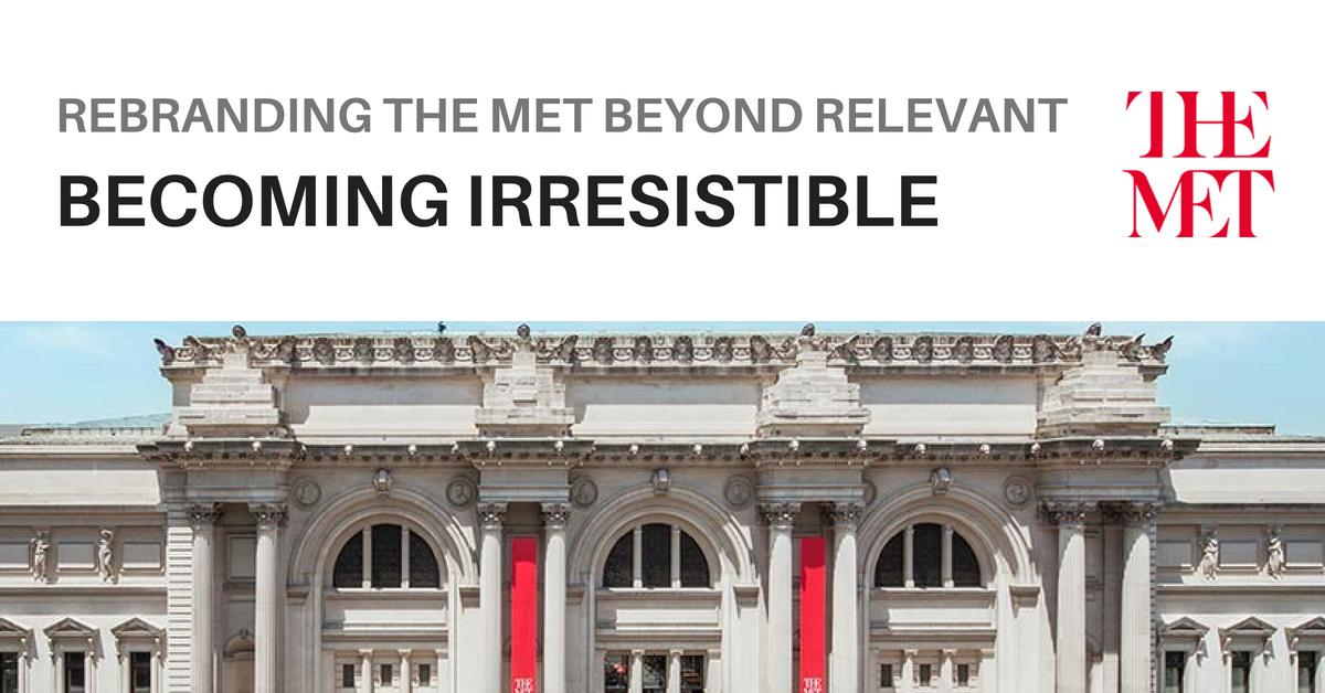 Museum rebranding the metropolitan art museum